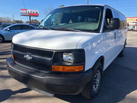 2008 Chevrolet Express Passenger for sale at Atlantic Auto Sales in Garner NC