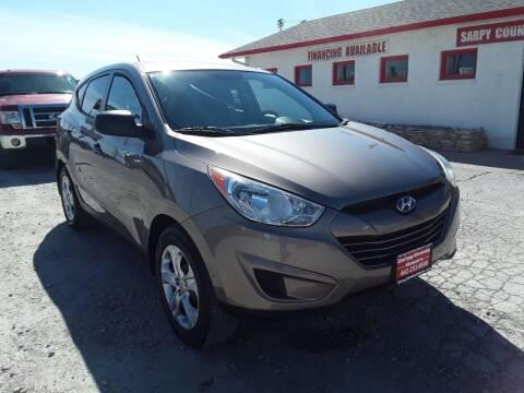 2012 Hyundai Tucson for sale at Sarpy County Motors in Springfield NE