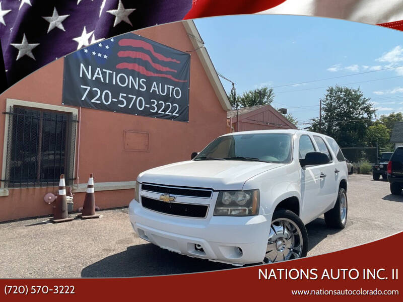 2011 Chevrolet Tahoe for sale at Nations Auto Inc. II in Denver CO