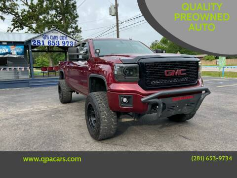 2014 GMC Sierra 1500 for sale at QUALITY PREOWNED AUTO in Houston TX