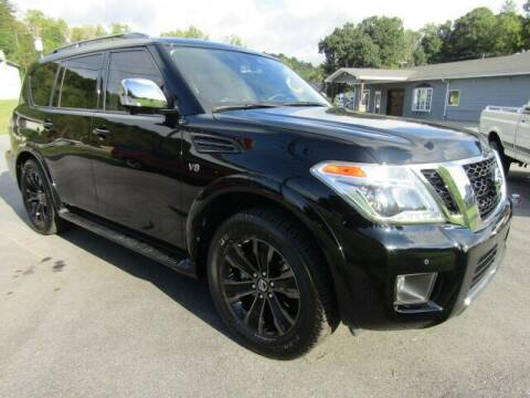 2020 Nissan Armada for sale at Specialty Car Company in North Wilkesboro NC