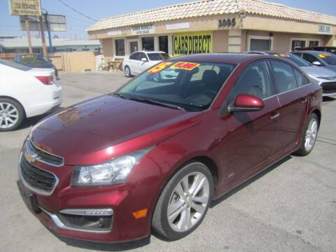 2015 Chevrolet Cruze for sale at Cars Direct USA in Las Vegas NV