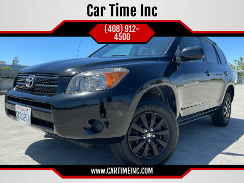 2007 Toyota RAV4 for sale at Car Time Inc in San Jose CA