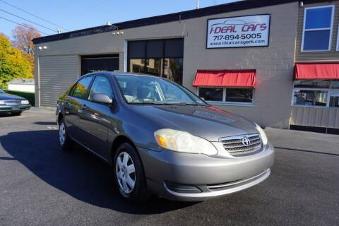 2006 Toyota Corolla for sale at I-Deal Cars LLC in York PA
