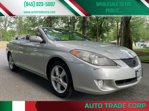 2004 Toyota Camry Solara for sale at AUTO TRADE CORP in Nanuet NY