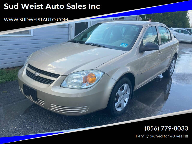 2007 Chevrolet Cobalt for sale at Sud Weist Auto Sales Inc in Maple Shade NJ