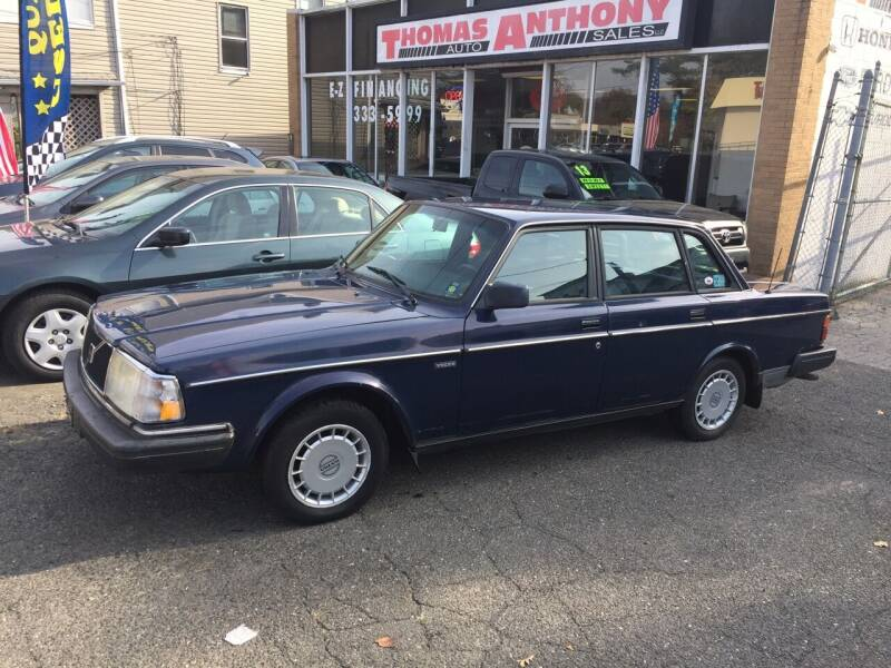 1991 Volvo 240 for sale at Thomas Anthony Auto Sales LLC DBA Manis Motor Sale in Bridgeport CT