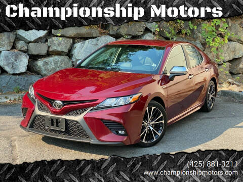 2018 Toyota Camry for sale at Championship Motors in Redmond WA