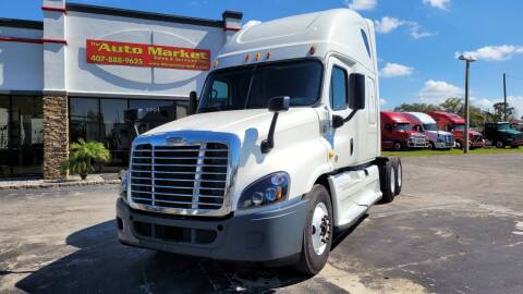 2015 Freightliner Cascadia for sale at The Auto Market Sales & Services Inc. in Orlando FL