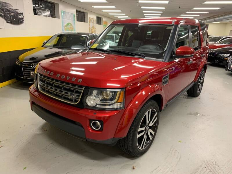 2014 Land Rover LR4 for sale at Newton Automotive and Sales in Newton MA