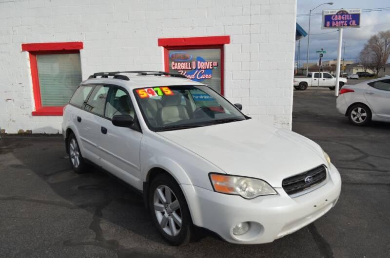 2006 Subaru Outback for sale at CARGILL U DRIVE USED CARS in Twin Falls ID