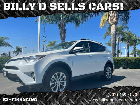 2018 Toyota RAV4 Hybrid for sale at BILLY D SELLS CARS! in Temecula CA