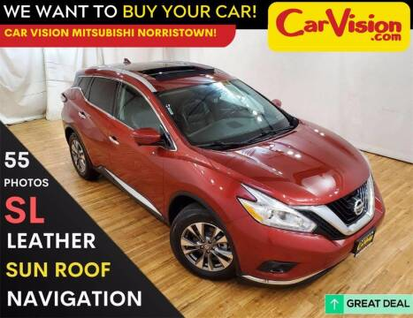 2017 Nissan Murano for sale at Car Vision Mitsubishi Norristown in Trooper PA