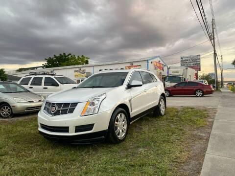 2012 Cadillac SRX for sale at ONYX AUTOMOTIVE, LLC in Largo FL