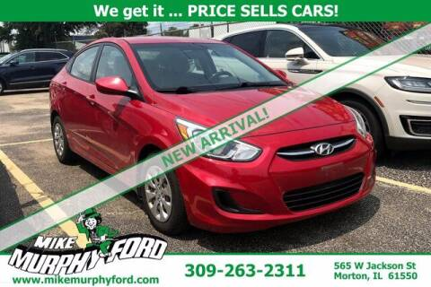 2015 Hyundai Accent for sale at Mike Murphy Ford in Morton IL