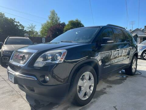 2008 GMC Acadia for sale at Integrity Motorz, LLC in Tracy CA