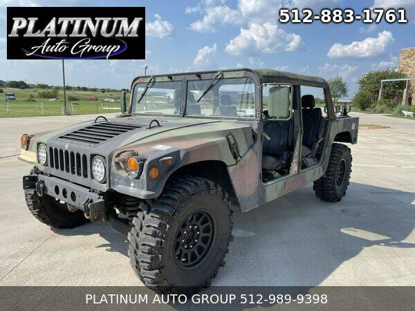 1987 AM General Hummer for sale in Hutto, TX