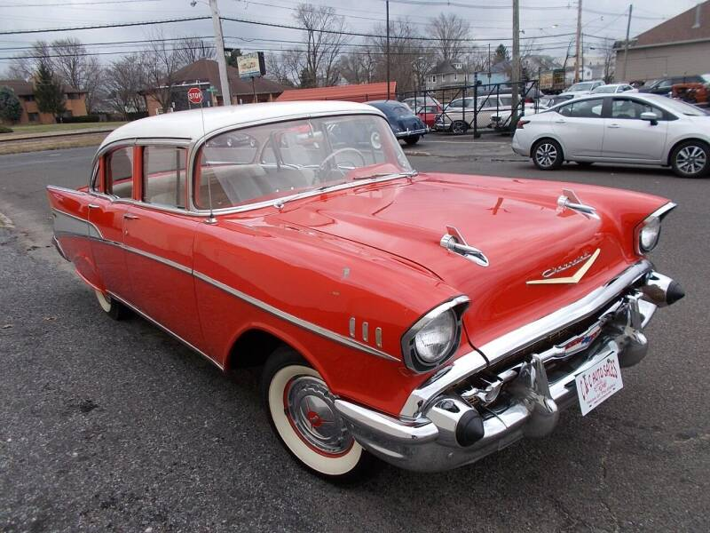 1957 Chevrolet Bel Air for sale at C & C AUTO SALES in Riverside NJ