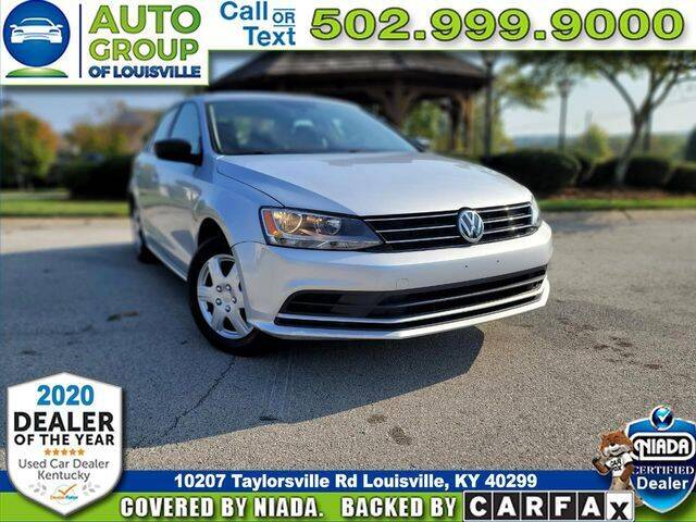 2015 Volkswagen Jetta for sale at Auto Group of Louisville in Louisville KY