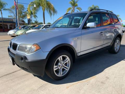 2005 BMW X3 for sale at 3K Auto in Escondido CA