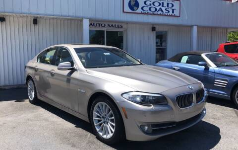 2011 BMW 5 Series for sale at GOLD COAST IMPORT OUTLET in St Simons GA
