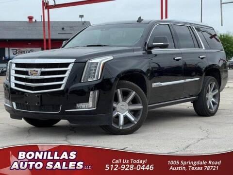 2016 Cadillac Escalade for sale at Bonillas Auto Sales in Austin TX