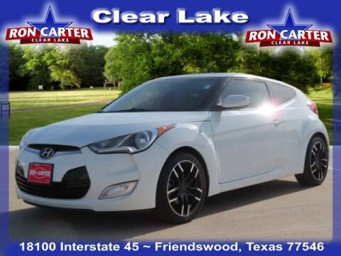 2014 Hyundai Veloster for sale at Ron Carter  Clear Lake Used Cars in Houston TX