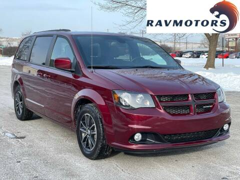 2018 Dodge Grand Caravan for sale at RAVMOTORS in Burnsville MN