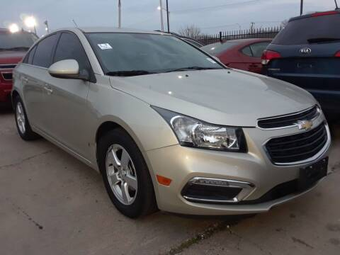 2016 Chevrolet Cruze Limited for sale at Auto Haus Imports in Grand Prairie TX