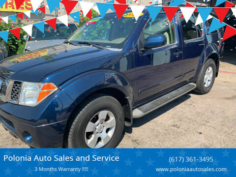2007 Nissan Pathfinder for sale at Polonia Auto Sales and Service in Hyde Park MA