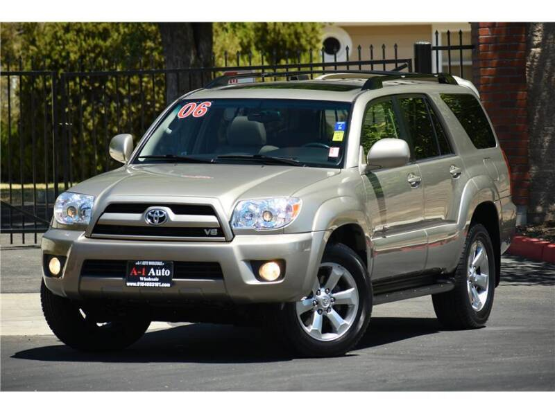2006 Toyota 4Runner for sale at A-1 Auto Wholesale in Sacramento CA