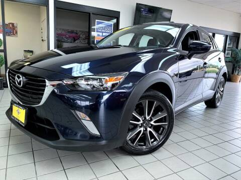 2017 Mazda CX-3 for sale at SAINT CHARLES MOTORCARS in Saint Charles IL