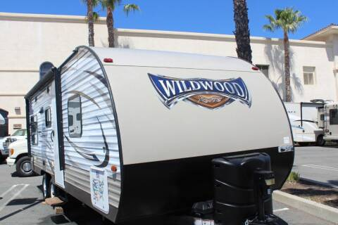 2018 Forest River Wildwood X-Lite 202RDXL for sale at Rancho Santa Margarita RV in Rancho Santa Margarita CA