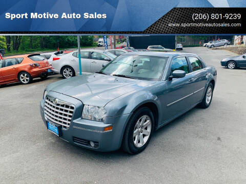 2006 Chrysler 300 for sale at Sport Motive Auto Sales in Seattle WA