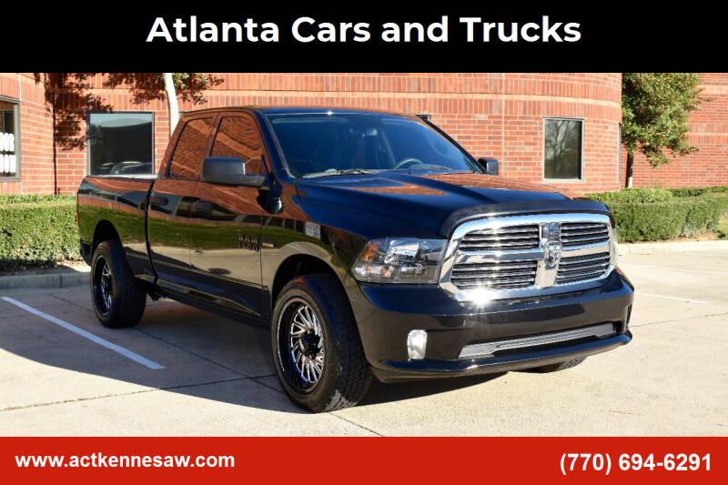 2018 RAM Ram Pickup 1500 for sale at Atlanta Cars and Trucks in Kennesaw GA
