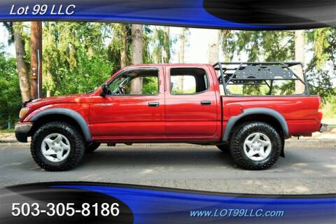 2002 Toyota Tacoma for sale at LOT 99 LLC in Milwaukie OR