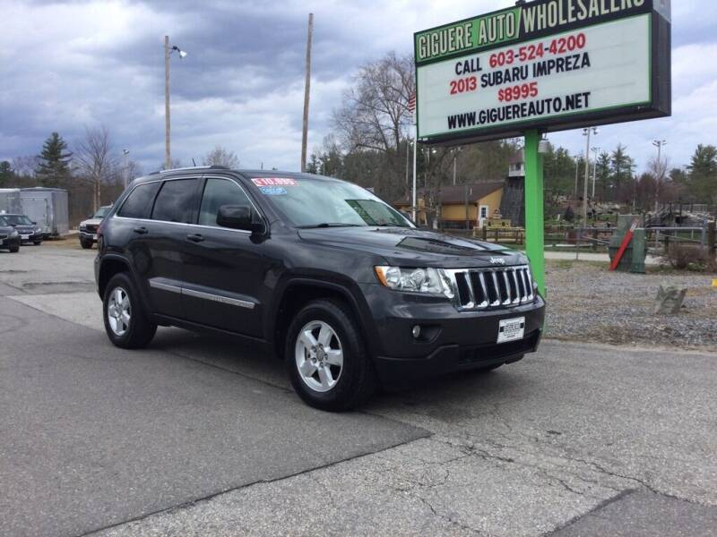 2011 Jeep Grand Cherokee for sale at Giguere Auto Wholesalers in Tilton NH