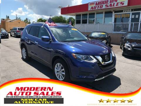 2019 Nissan Rogue for sale at Modern Auto Sales in Hollywood FL