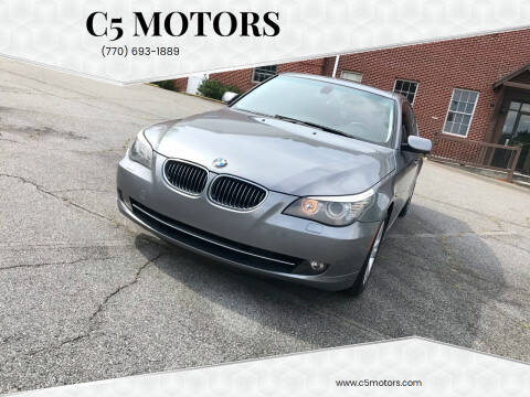 2009 BMW 5 Series for sale at C5 Motors in Marietta GA