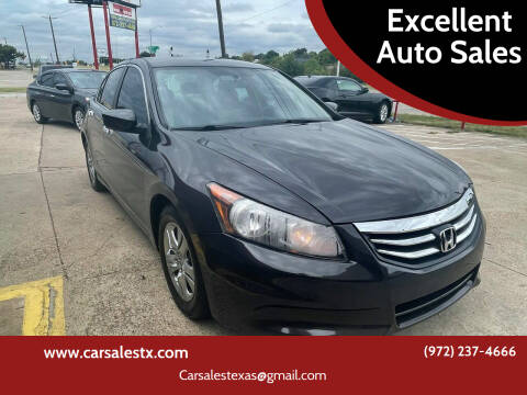 2011 Honda Accord for sale at Excellent Auto Sales in Grand Prairie TX