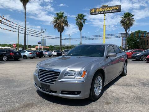 2014 Chrysler 300 for sale at A MOTORS SALES AND FINANCE in San Antonio TX