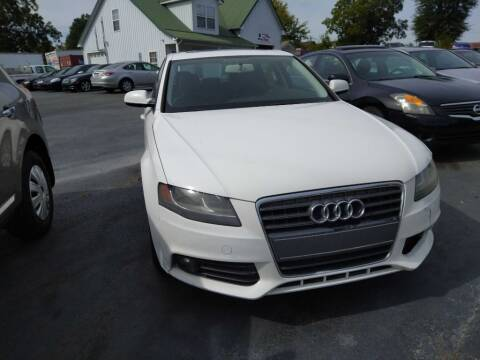 2011 Audi A4 for sale at Thomasville Auto Sales in Thomasville NC