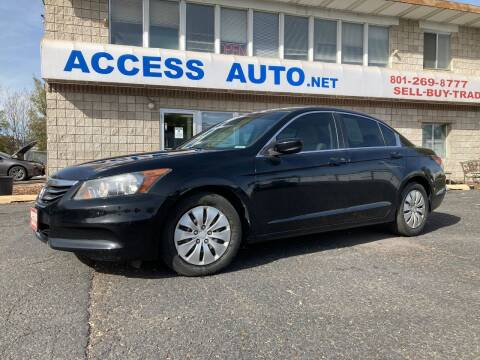 2012 Honda Accord for sale at Access Auto in Salt Lake City UT