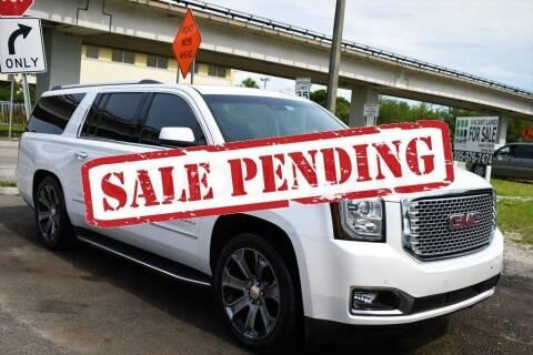 2017 GMC Yukon XL for sale at STS Automotive - Miami, FL in Miami FL