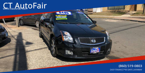 2012 Nissan Sentra for sale at CT AutoFair in West Hartford CT