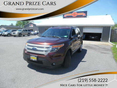 2012 Ford Explorer for sale at Grand Prize Cars in Cedar Lake IN