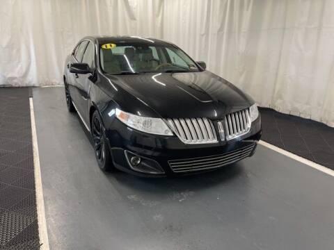2011 Lincoln MKS for sale at Monster Motors in Michigan Center MI