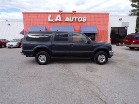 2000 Ford Excursion for sale at L A AUTOS in Omaha NE