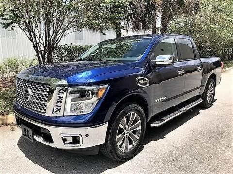 2017 Nissan Titan for sale at DENMARK AUTO BROKERS in Riviera Beach FL