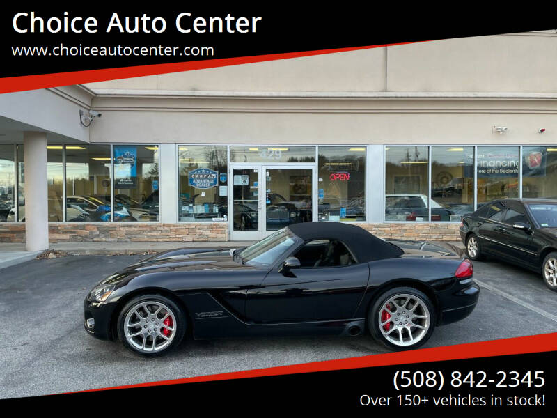 2004 Dodge Viper for sale at Choice Auto Center in Shrewsbury MA